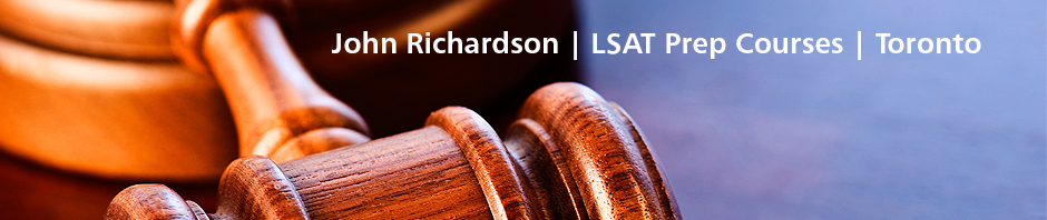 Richardson LSAT Prep Courses – Toronto, Canada – October 3, 2015 LSAT