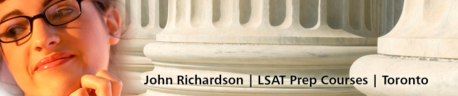 Richardson LSAT Prep Courses – Toronto, Canada – Sept. 24, 2016 LSAT